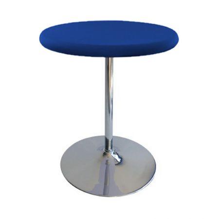 Table Guéridon Modulo bleu