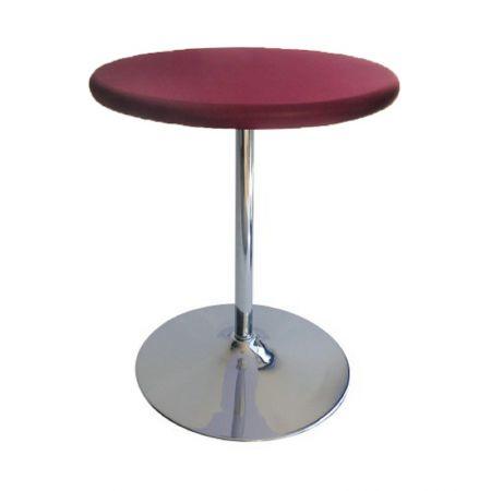 Table Guéridon Modulo bordeaux