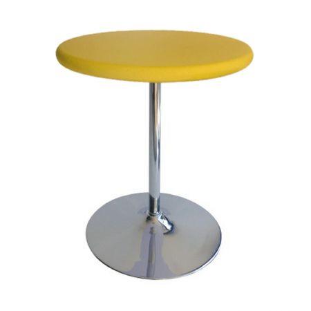 Table Guéridon Modulo jaune