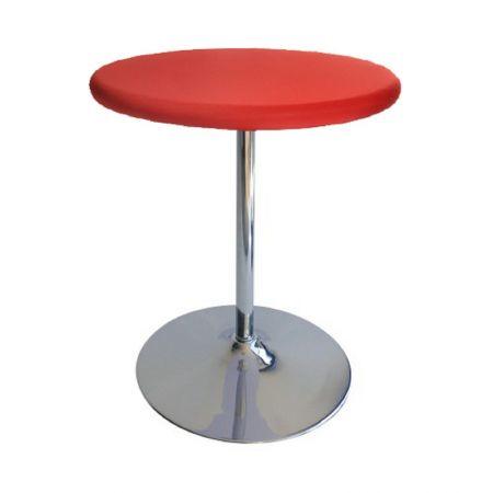 Table Guéridon Modulo rouge