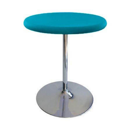 Table Guéridon Modulo turquoise