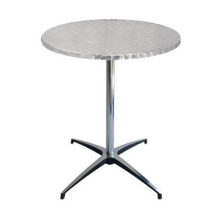 Table Guéridon Modulx bistrot-inox