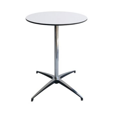 Table Guéridon Modulx blanc 60cm