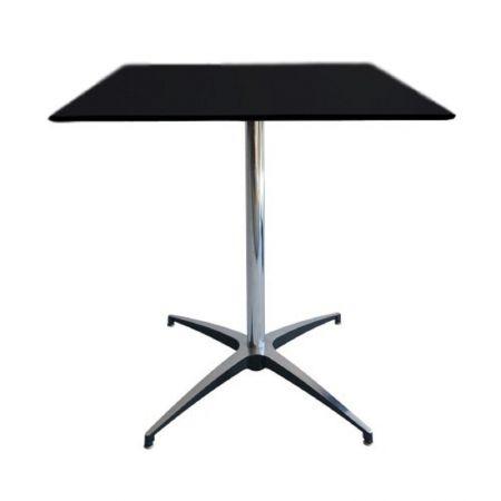 Table Guéridon Modulx carre noir