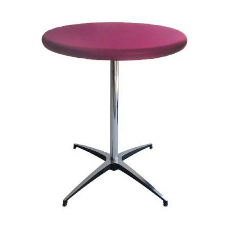 Table Guéridon Modulx fushia