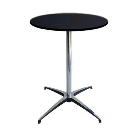 Table Guéridon Modulx noir 60cm