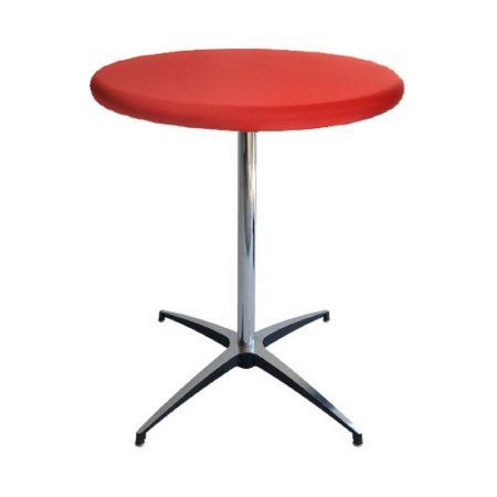 Table Guéridon Modulx rouge