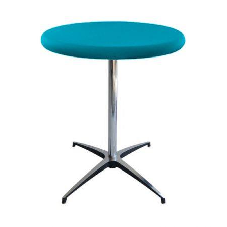 Table Guéridon Modulx turquoise