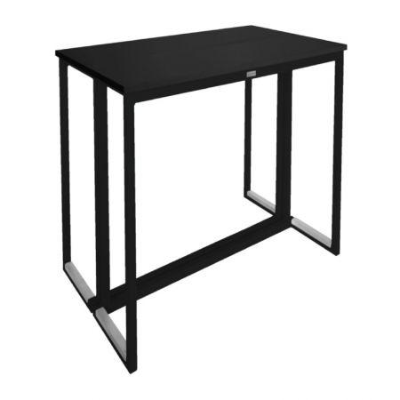 Table Haute Kubo Noire - Plateau Noir