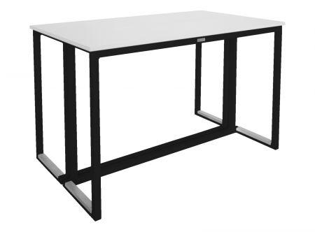 Table Kubo Noire - Plateau Blanc