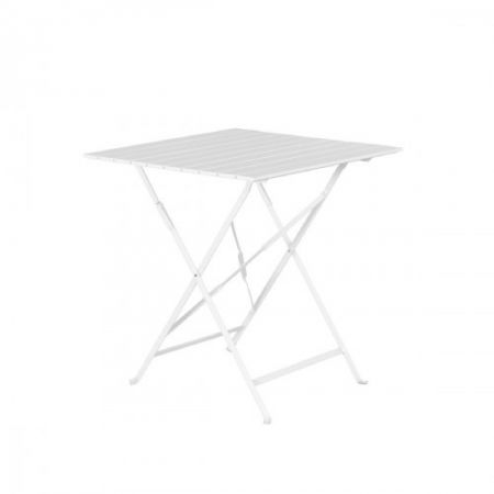Table pliante latte Square