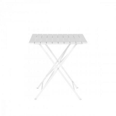 Table pliante latte Square