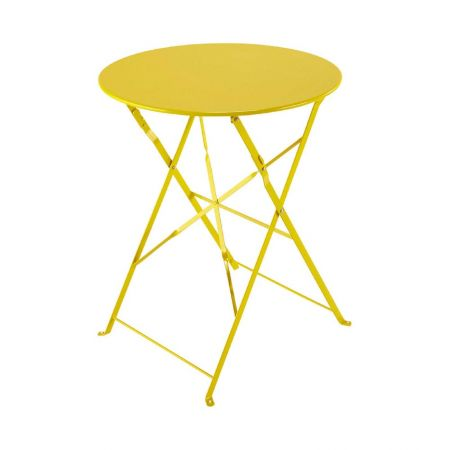 Table Pliante Square Jaune