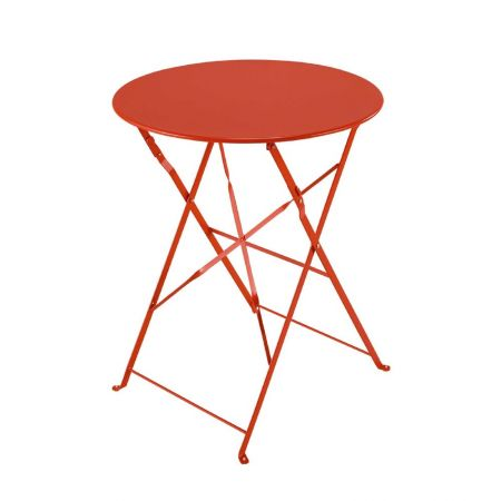 Table Pliante Square Rouge