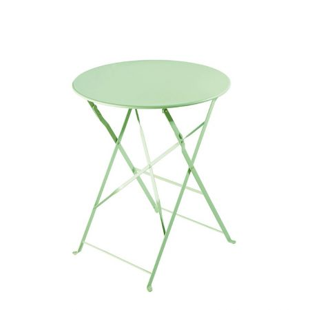 Table Pliante Square Vert Anis
