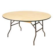 Table ronde bois 120cm pour 6-8 personnes