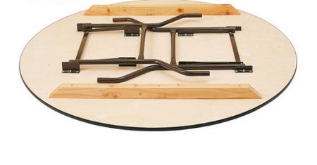 Table ronde bois 180cm pour 10-12 personnes