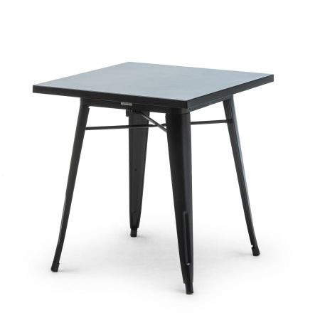 Table Style Tolix Dinner Noire