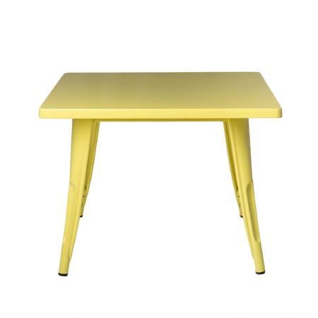Table tolix kids jaune