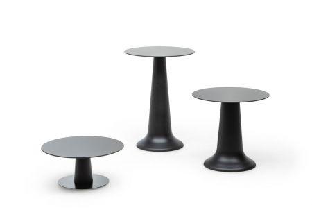 Table Vase dinner noir