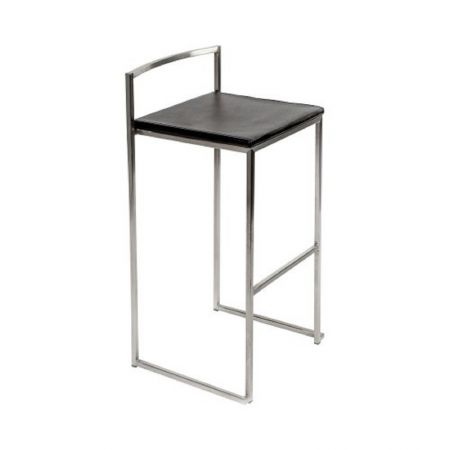 Tabouret de bar haut Manhattan Noir