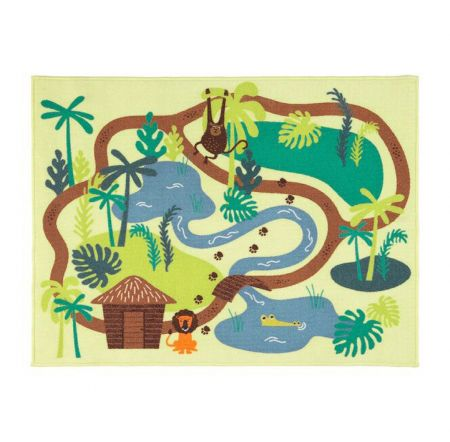 Tapis de jeux enfant jungle