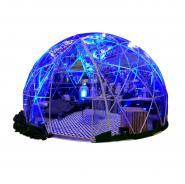 Tente bulle igloo transparente