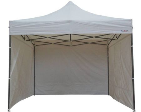 Tente pliante 3X3 - 9m2 avec cotés