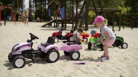 Tracteur à pédales - Jeux enfant