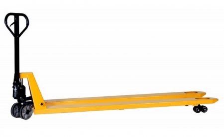 Transpalette longues fourches