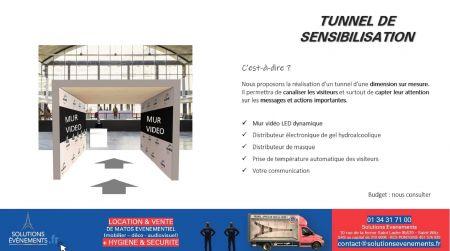 Tunnel Covid 19
