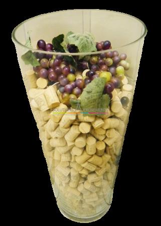 Vase décoratif-bouchons de liège