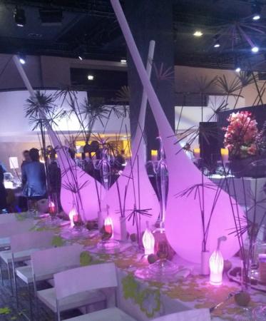 Vase lumineux Soliflore XXL